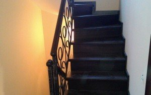 Лестница чёрная. Мастерская «Феникс»