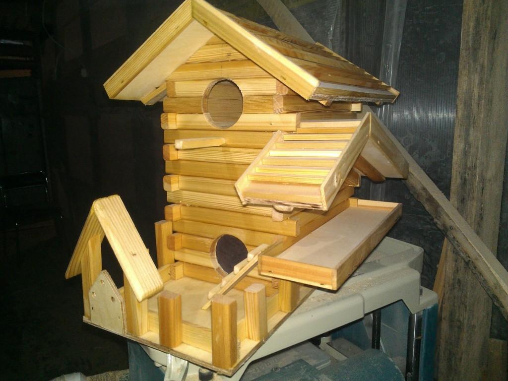 Изготовление любых деревянных конструкций на заказ