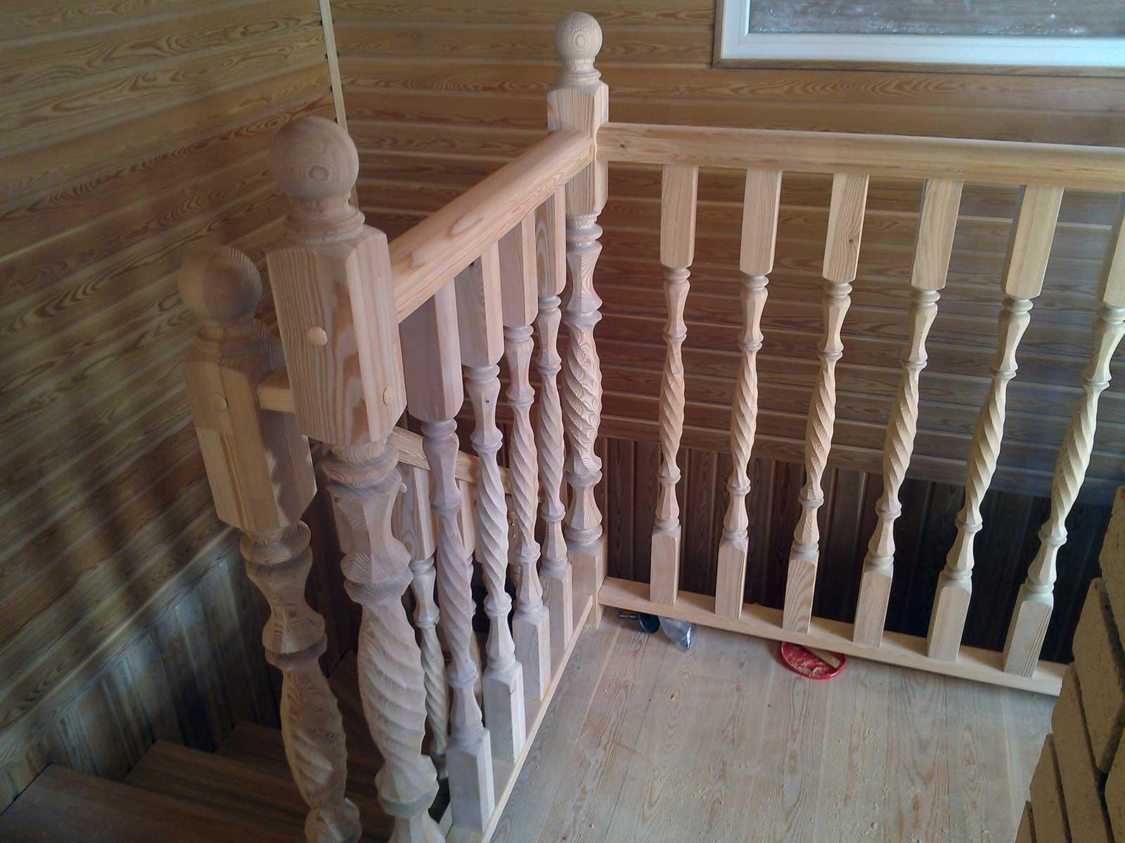баня лестница на 2 этаж