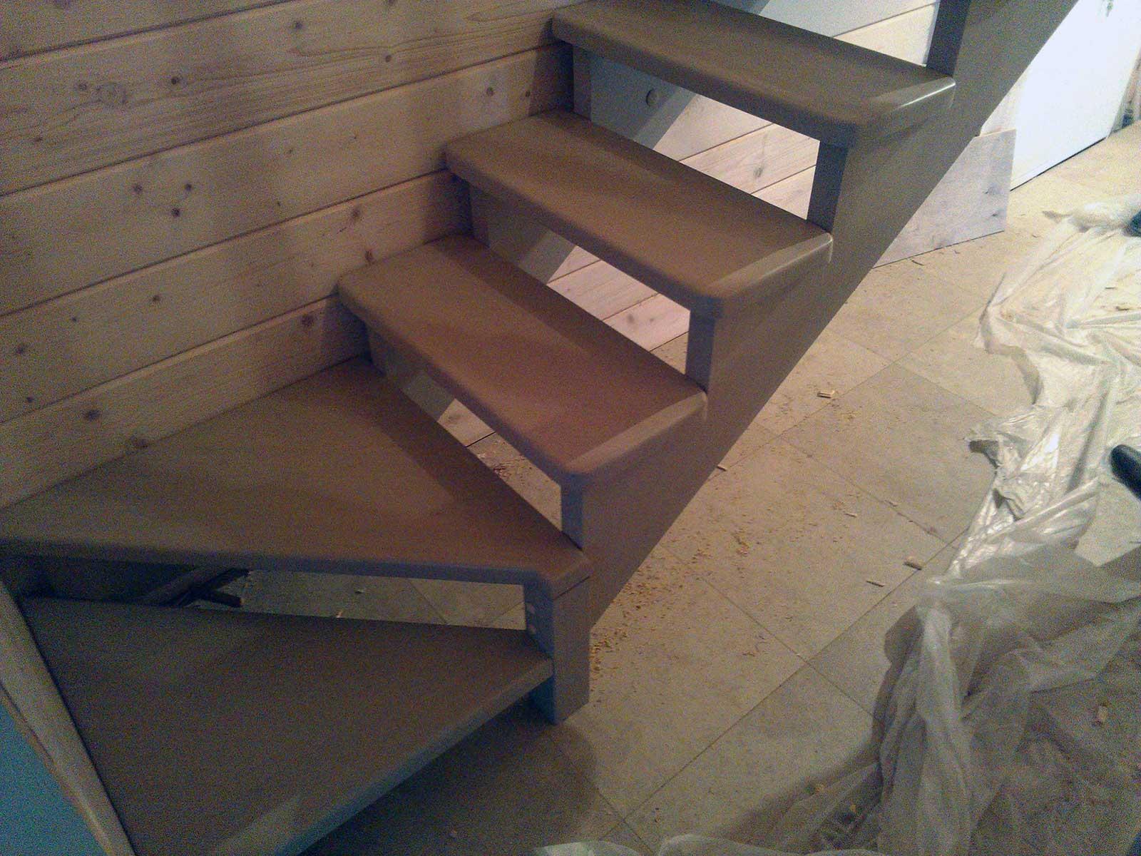 воздушные лестницы на второй этаж