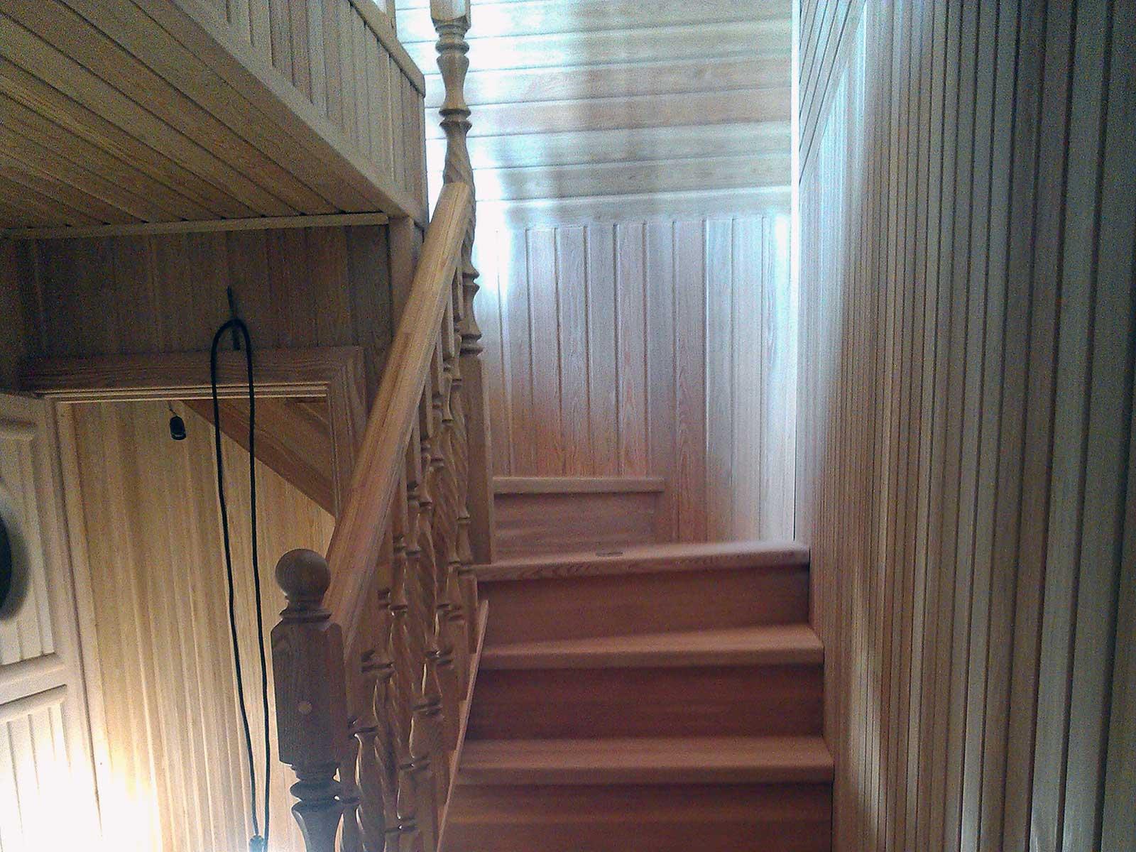 лестница в бане