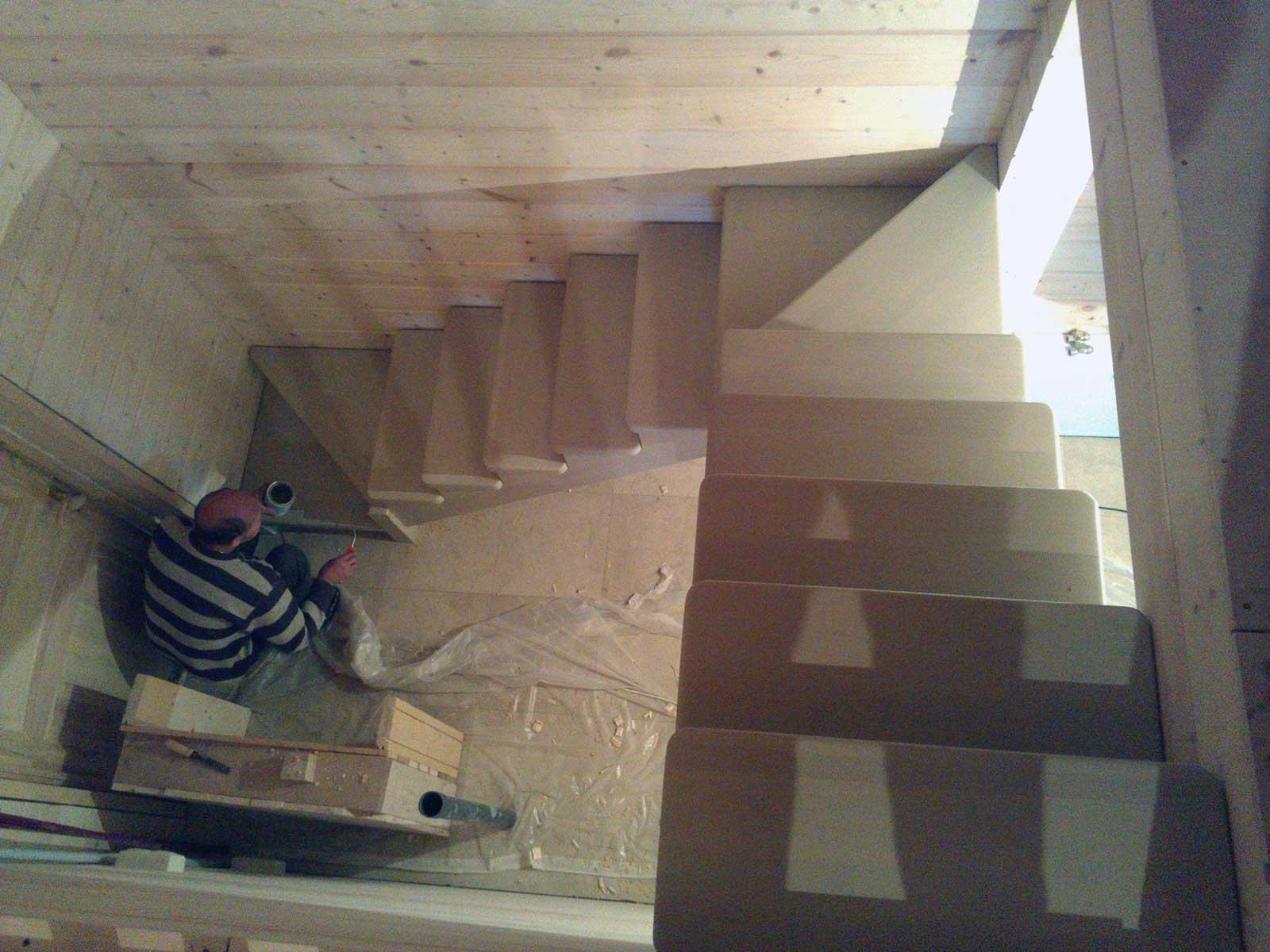 воздушные лестницы для дома