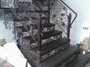 кованые лестницы цена