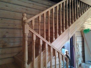 лиственница доска лестница