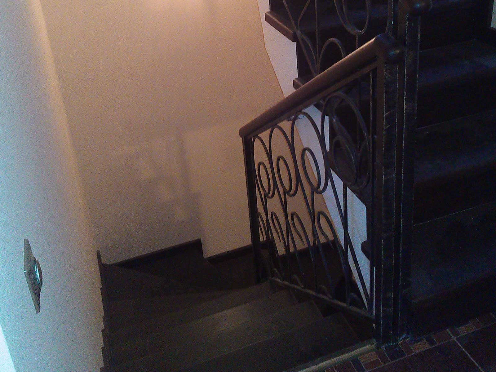 лестница дуб венге