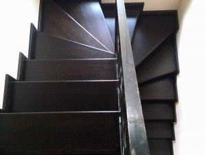 лестницу из массива дуба