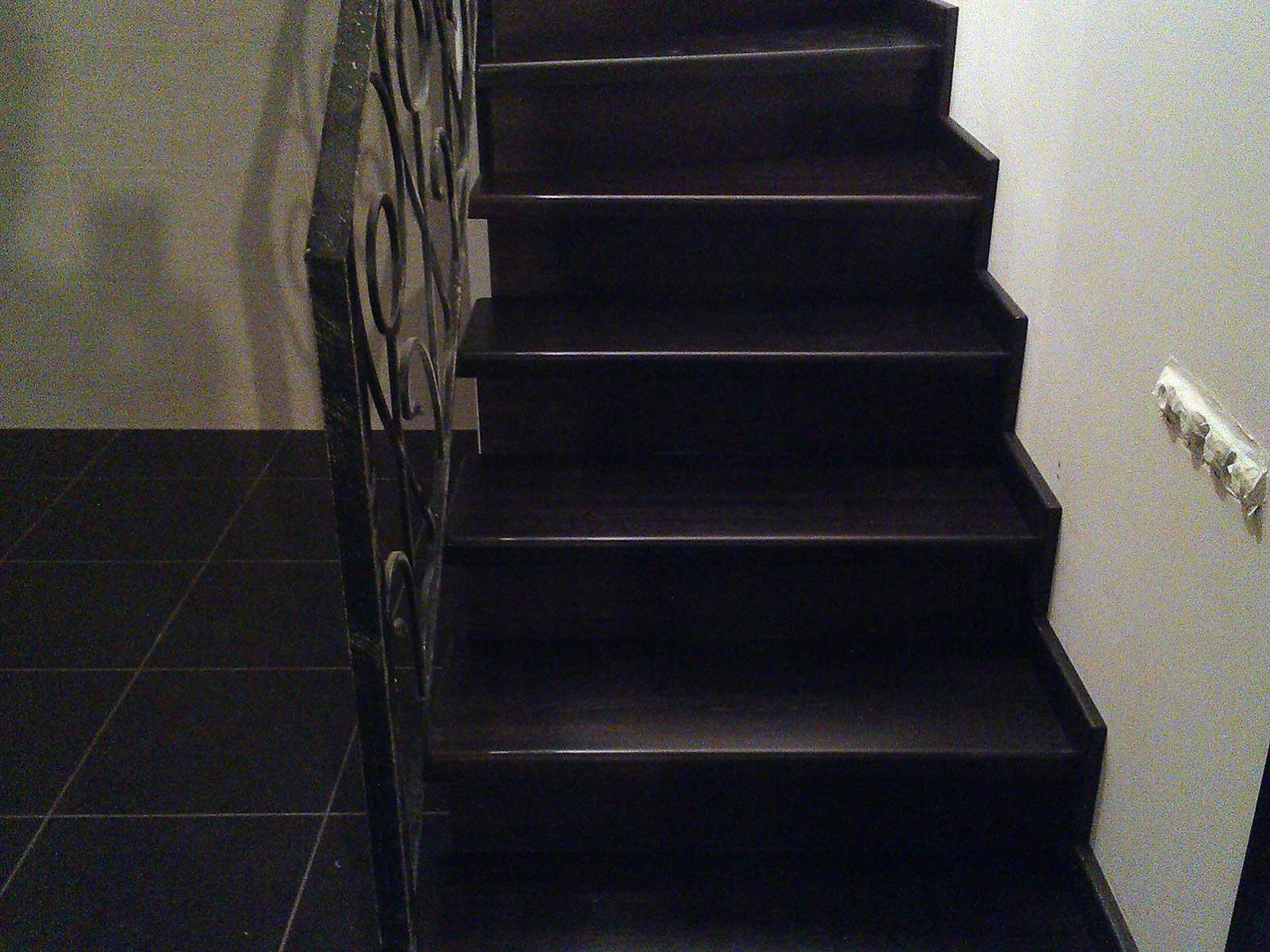 лестница из дуба москва