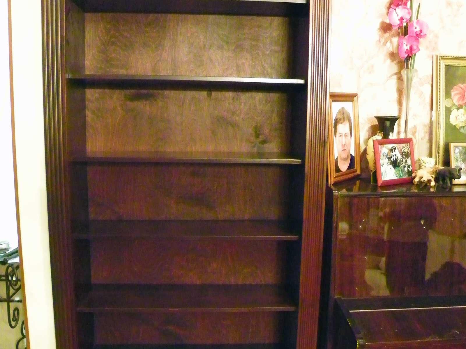 книжные шкафы на заказ недорого