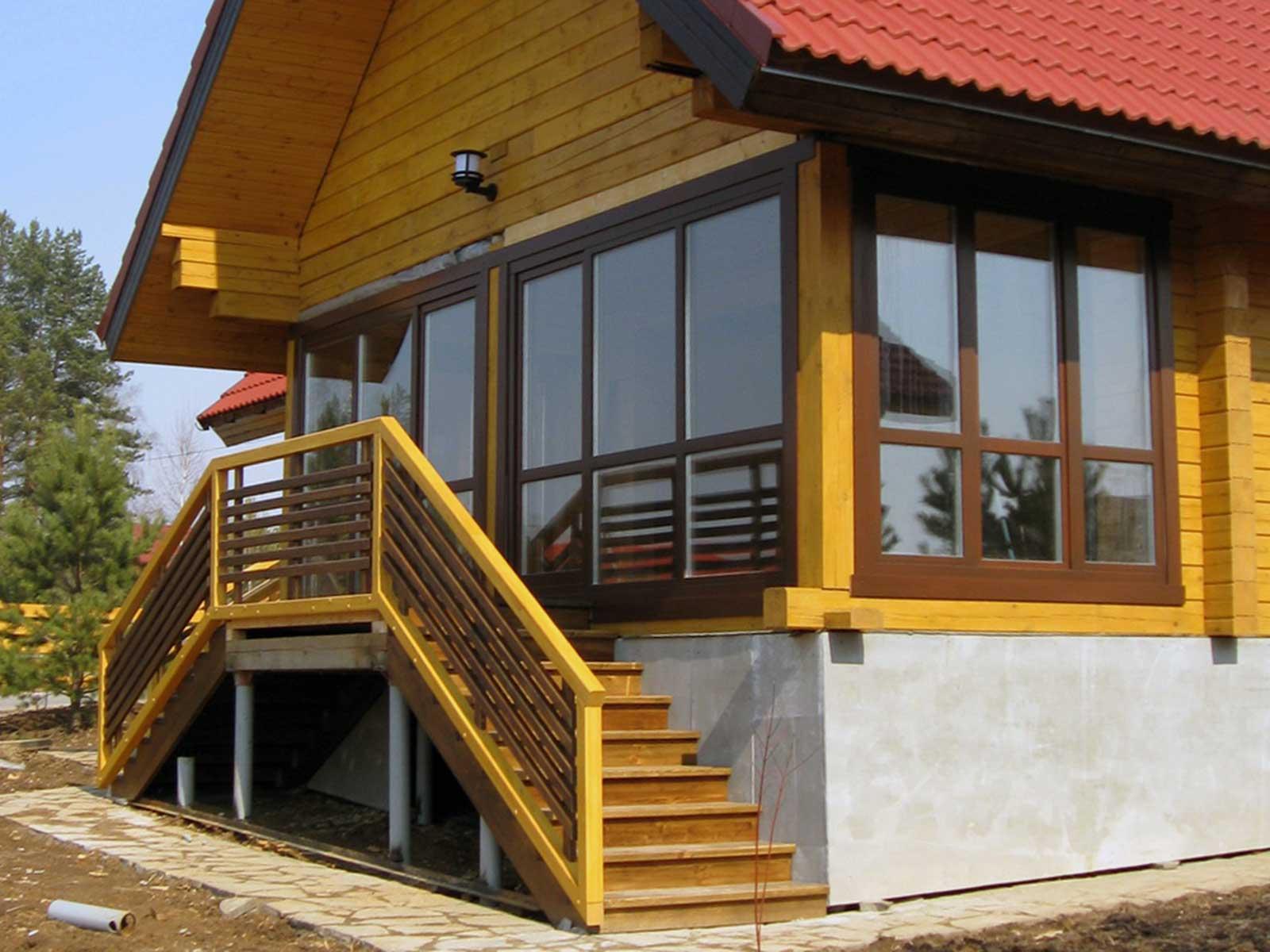 деревянные окна на заказ для дачи