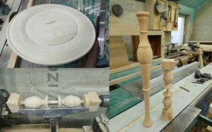 токарные изделия из дерева на заказ
