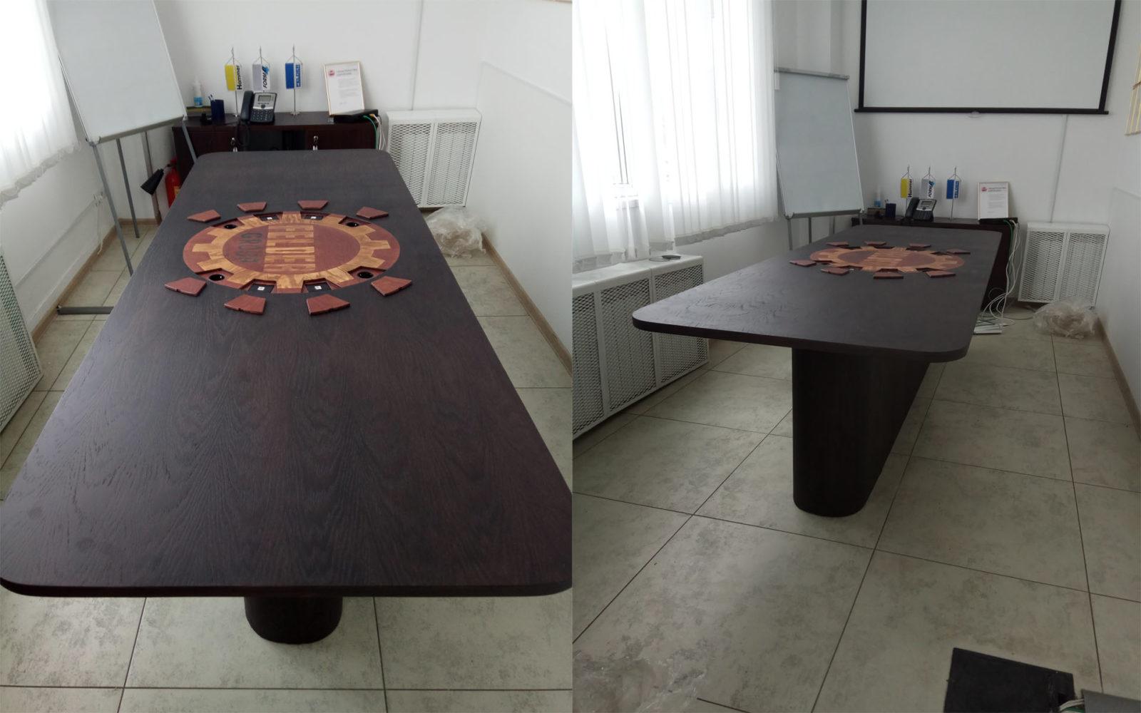 стол для переговоров на заказ, стол на заказ, стол в офис