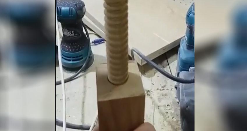 деревянный винт